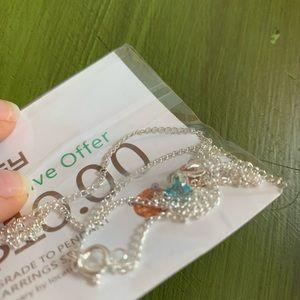 ⚡️5 for $25⚡️EFFY blue pendant